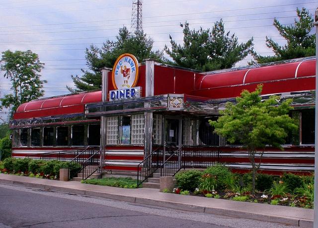 The Red Hawk Diner, Montclair State University, Montclair NJ