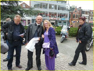 Samen met Jos Aalders