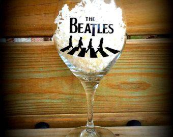 Beatles Wine Glass - Edit Listing - Etsy