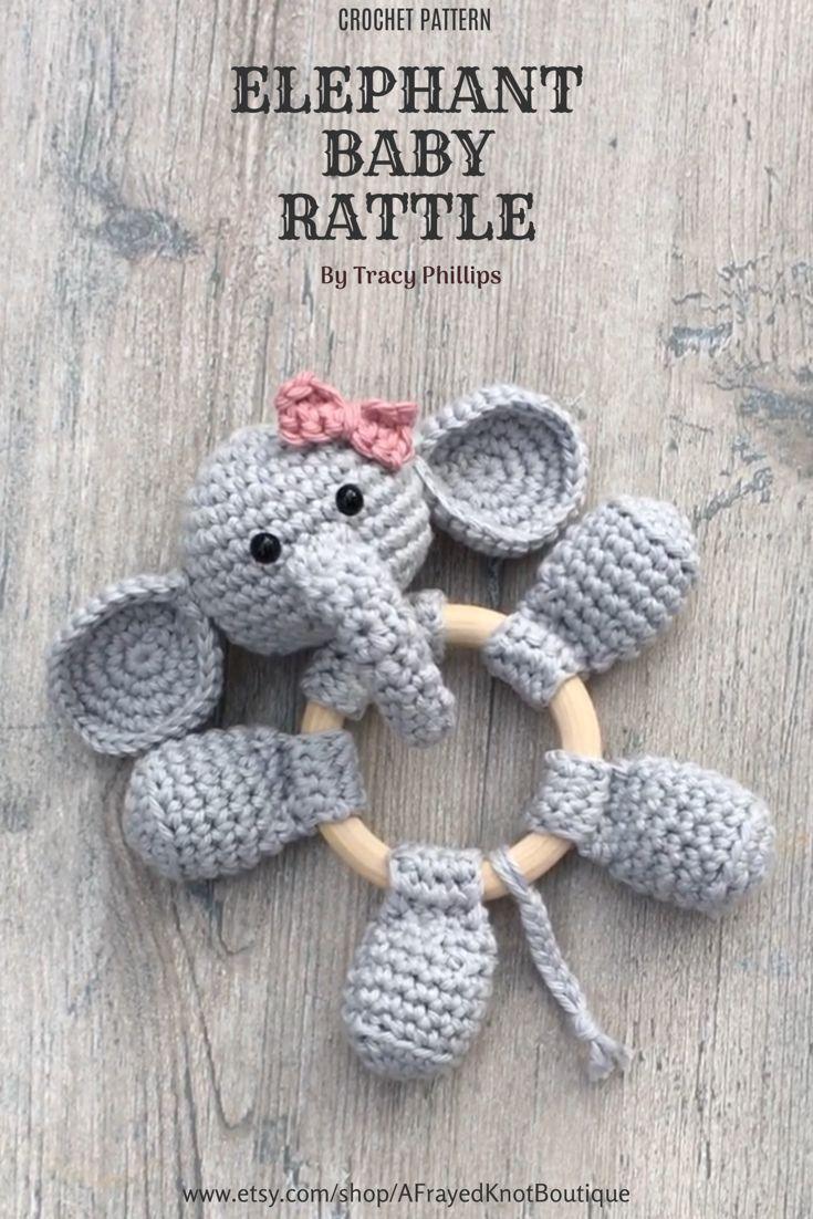 The Sweetest Crochet Elephant Patterns To Try | The WHOot | 1102x735
