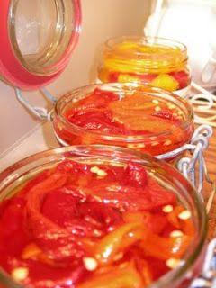 Κορίτσια Για Σπίτι: Συντηρούμε πιπεριές στο ξύδι