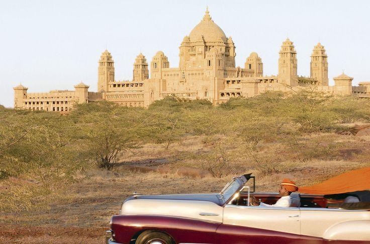 Mehrangarh Fort in Jodhpur, Rajasthan.