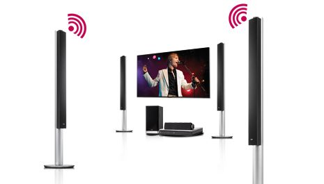 Buy LG BH9540TW 9.1 Smart 3D Blu-ray Wireless Home Cinema System | Free Delivery | Currys