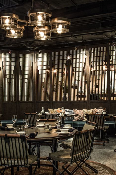 MOTT 32 Restaurant Hong Kong Designed By Joyce Wang Studio