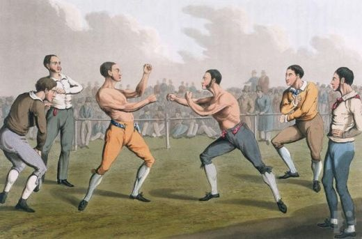 bare knuckle boxing!