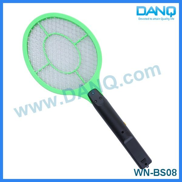 Three layers mosquito repellent, bug zapper, mosquito swatter, mosquito racket with CE-EMC