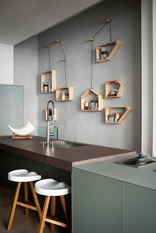 Shelving above cabinetry?