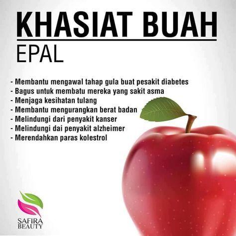 Manfaat Buah Epal