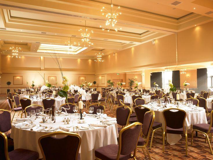 Wedding display at the Amber Springs Hotel
