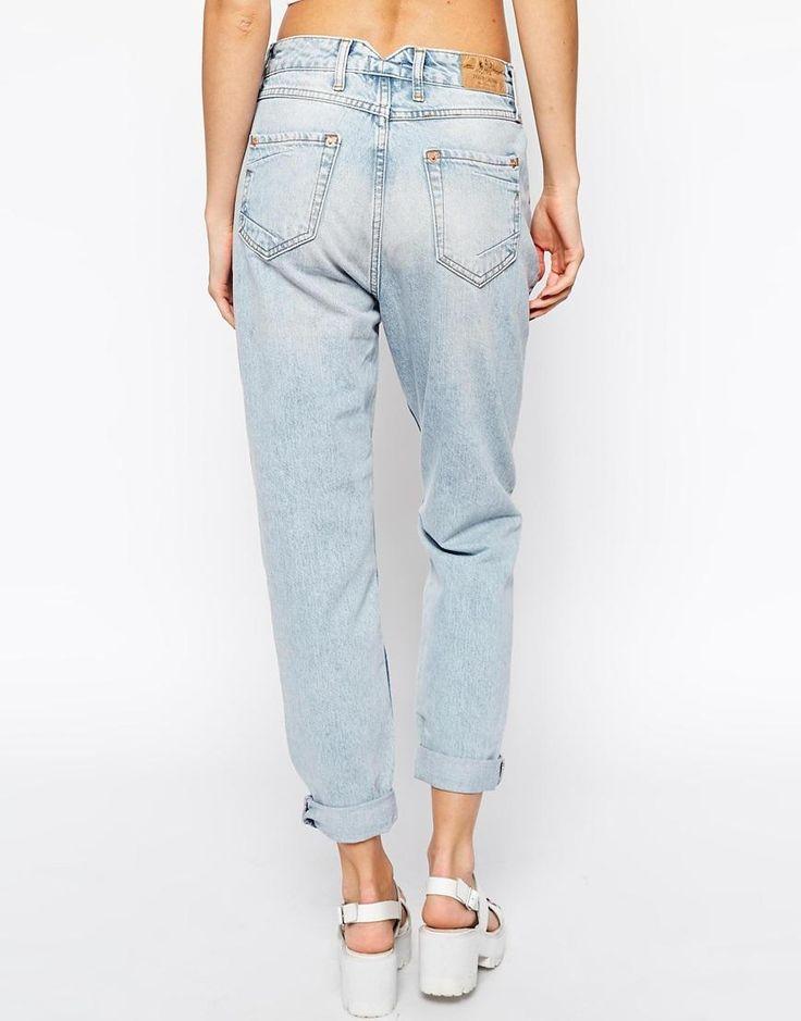 River Island | Светлые джинсы в винтажном стиле River Island на ASOS