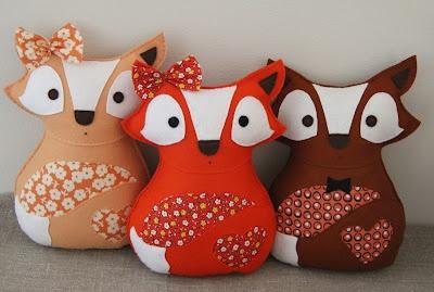 Adorable Fox Softies