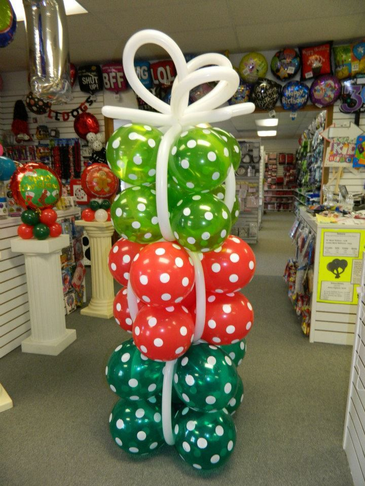 Tower of 'Balloon' Presents www.itspartytimeandrentals.com