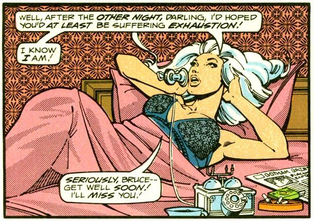 Silver St. Cloud's first appearance in Detective Comics #471 August 1977.