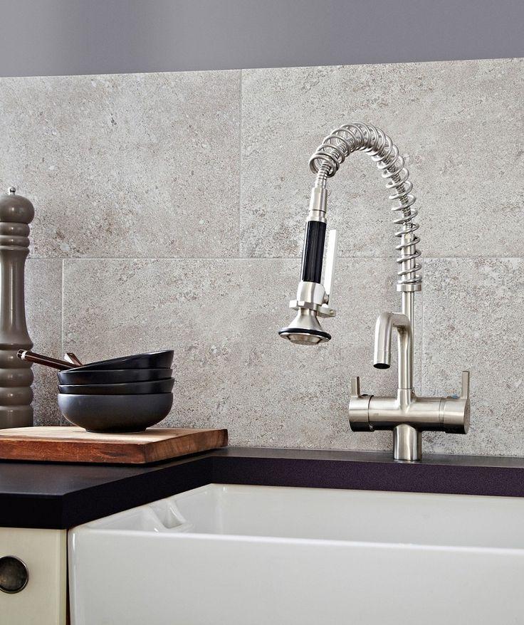 Pompeii Grey Topps Tiles Home Bathroom Grey Tiles
