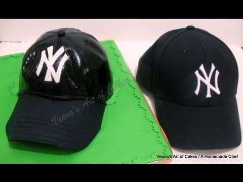 Base Ball Cap Cake