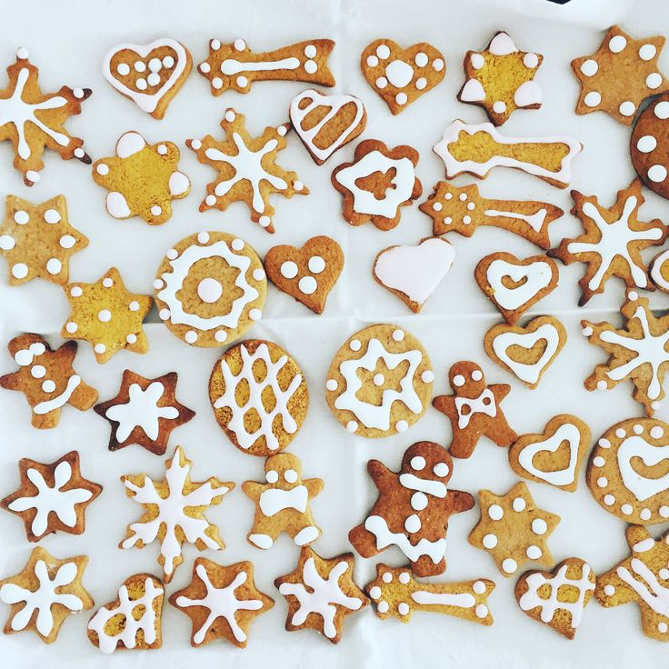 Biscottini di pan di zenzero gingerbread