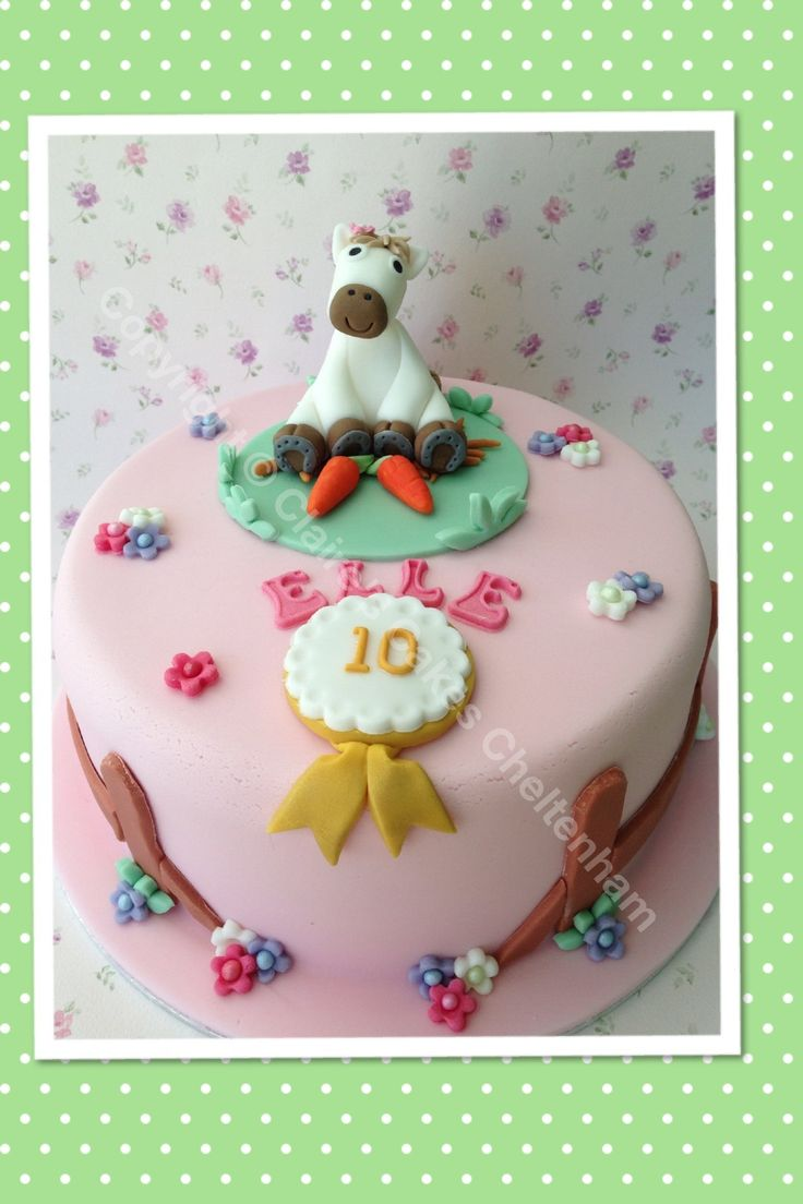Best Cakes Horses Images On Pinterest Horse Cake Birthday - Horse themed birthday cakes
