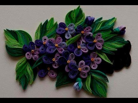 Quilling Made Easy # How to Make Quilling Flower with paper strips -Pape...