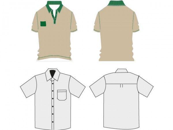 Shirt And Polo TShirt Template  Freebies    Polos And