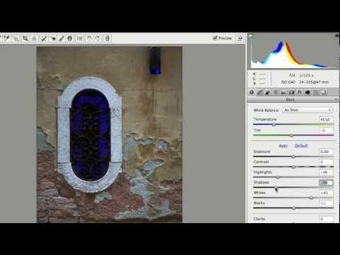 [어도비] 포토샵 CS6의 Adobe Camera Raw 7.0 - Photoshop CS6 - YouTube