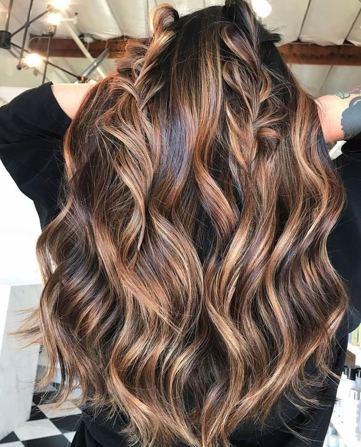 42 Trendy Winter Hair Shade Concepts     Tangled     Brown Hair