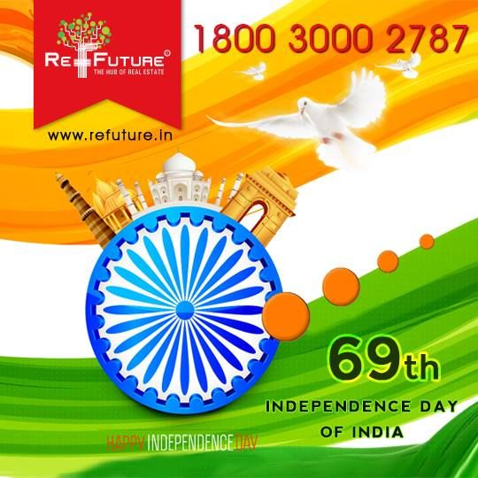 """RE-FUTURE: Celebrating 69th Independence Day Of India """"....."""