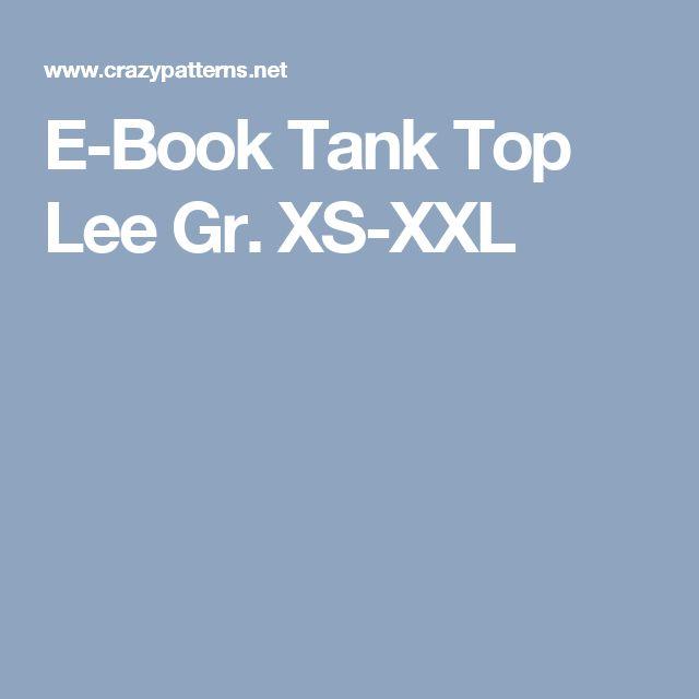 E-Book Tank Top Lee Gr. XS-XXL