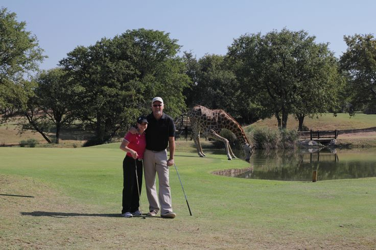Another Golf Safari moment.