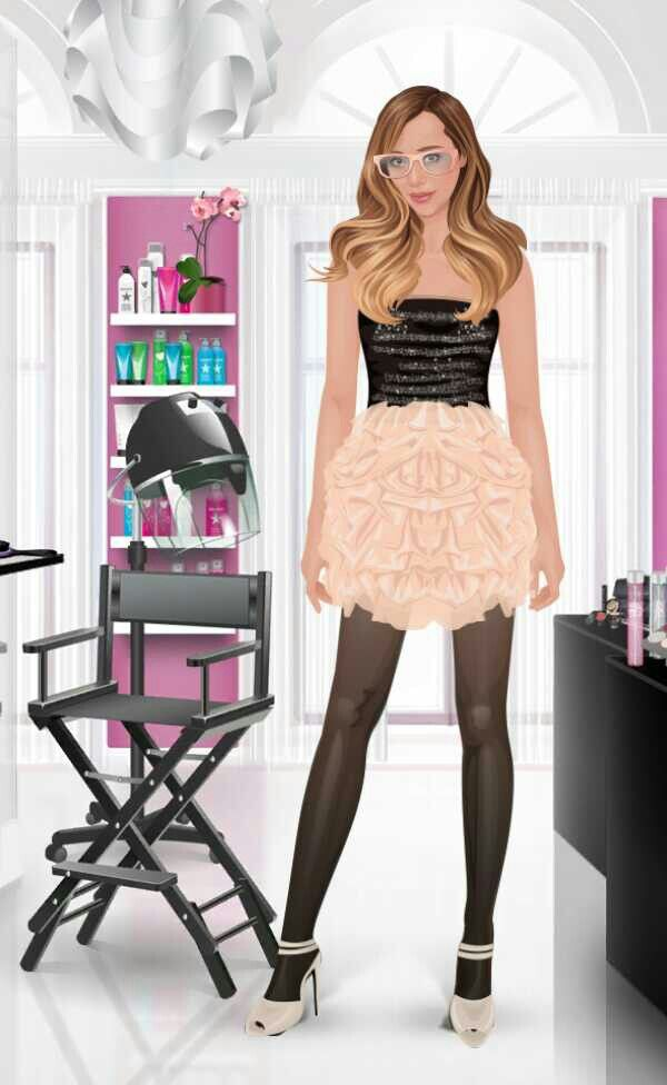 I love this app its called blog stars dress up thst where I got this person