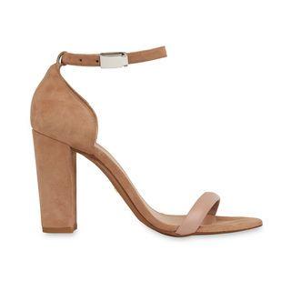 Hyde Block Heel Sandal, in NUDE on Whistles
