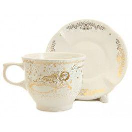 Guardian Angel Cup & Saucer Set,  $14.00.  Order here: http://catalog.obitel-minsk.com/handmade-ceramics/ceramic-tableware.html?ceramics_type=553 #christmastime #xmas #giftideas #gift #souvenir #present #ceramic #clay #handmade #teaset #home #tea #warmly #cup #saucer #pottery