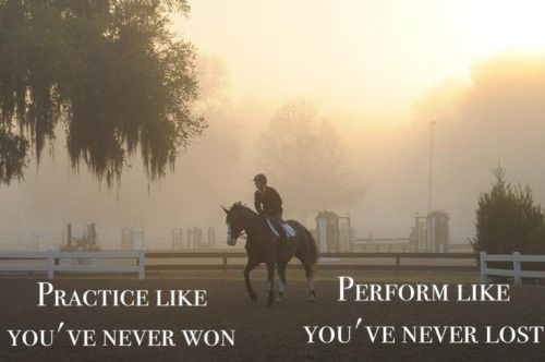 quotes motivation inspiration sports horse competition practice ...