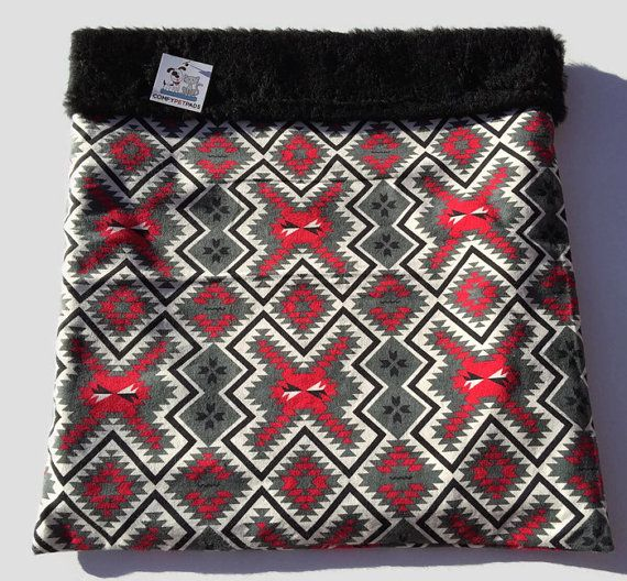 Aztec Snuggle Sack, Dog Blanket, Burrow Bed, Pet Pouch, Southwestern Decor, Cuddle Cup, Doxie Bed Warmer, Dachshund Bed, Bed Warmer, Cat Bed #PocketBed #WienerDogBed #ChihuahuaDog #AztecSnuggleSack #BedWarmer #DachshundBed #SouthwesternDecor #PetPouch #DoxieBedWarmer #SnuggleSack