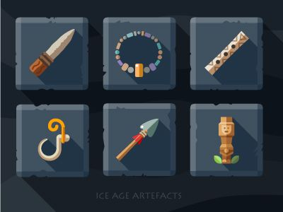 Artefacts icon set - 2 by Oleg Beresnev