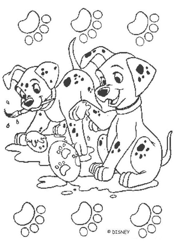67 best 101 dalmatian dogs images on Pinterest | Coloring books ...