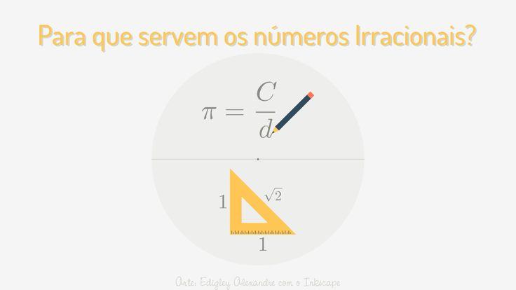 Para que servem os números irracionais? Além das fórmulas de perímetro, áreas e volumes [Ebook Gratuito]