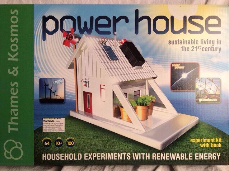 Solar Power House Thames Amp Kosmos Science Experiment Kit