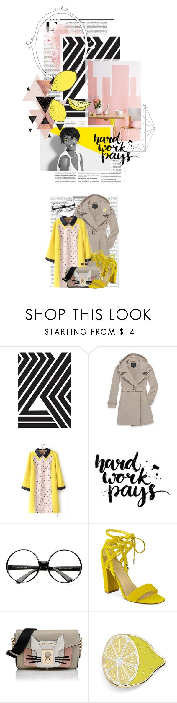 """""""Congrats to the winners of the When Life Gives You Lemons Contest"""" by crystal85 ❤ liked on Polyvore featuring Nicki Minaj, Paul Mitchell, Andrew Marc, ZeroUV, Chloé, Marc Fisher, Karl Lagerfeld, Big Bud Press and Harajuku Lovers"""