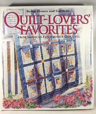 199 best quilting images on pinterest easy quilts patchwork quilt lovers favorites vol 6 american patchwork and quilting better homes garden fandeluxe Choice Image