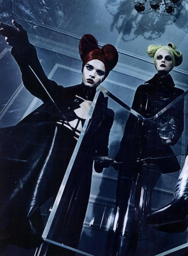 Steven Klein, Vogue Italia Editorial A Point of View, September 2011 Shot #13