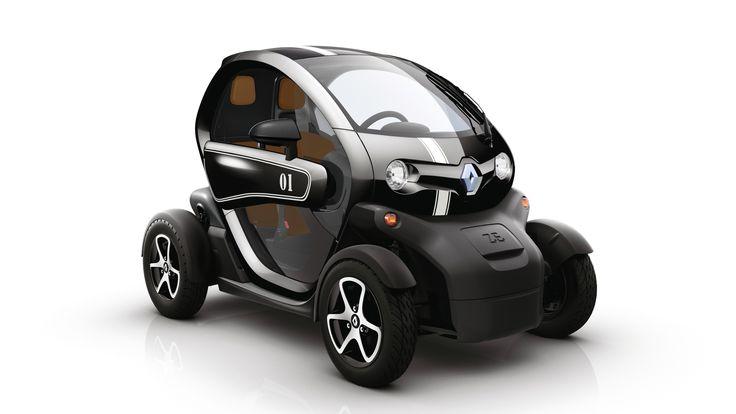 La Renault Twizy ZE est une voiture ultra-compacte deux places qui est complètement électrique. Elle vise les utilisateurs urbains et est commercialisée depuis mars 2012 à prix proche des gros scooters 3 roues. #Renault #Twizy