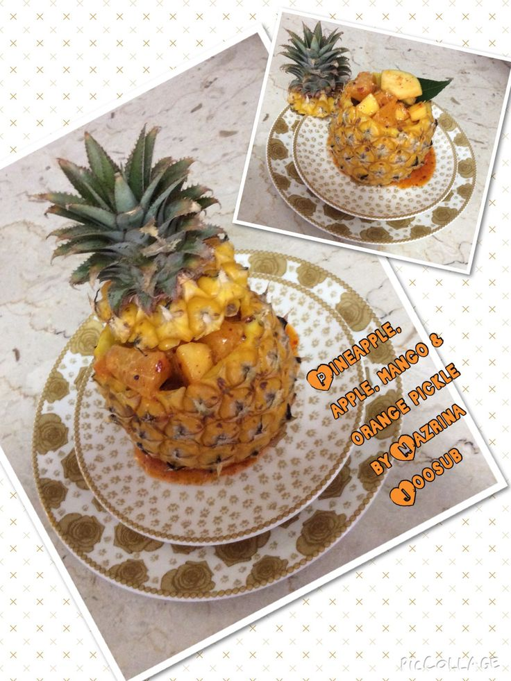 Pineapple pickle