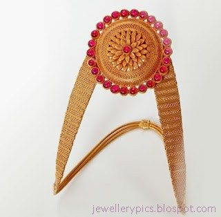 Traditional Armlet (Vanki) Designs - Latest Jewellery Designs