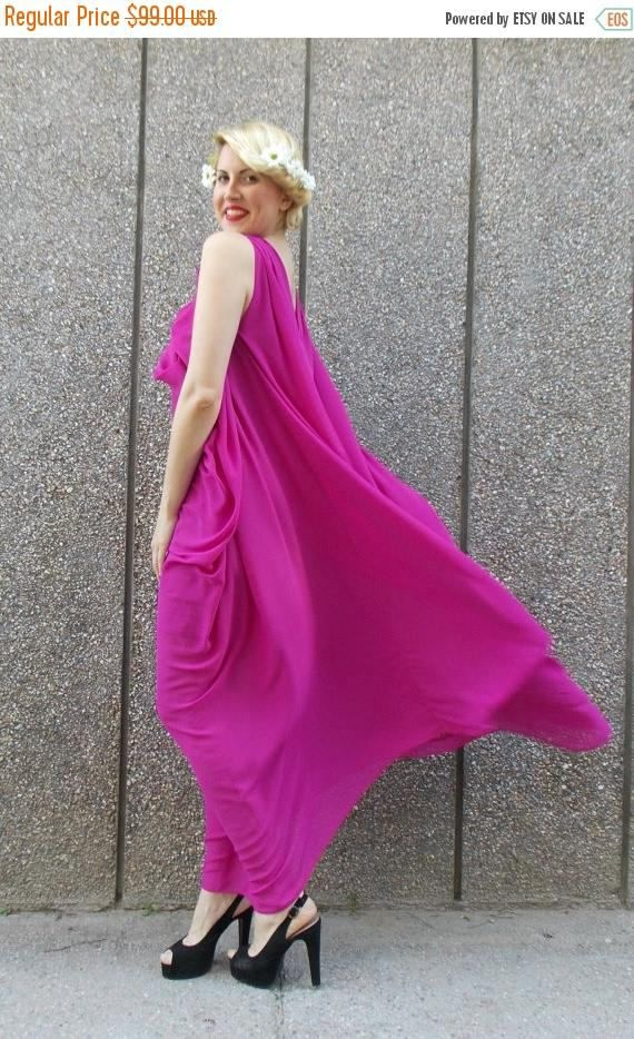 Check out this item in my Etsy shop https://www.etsy.com/listing/231275075/sale-purple-summer-dress-crepe-chiffon