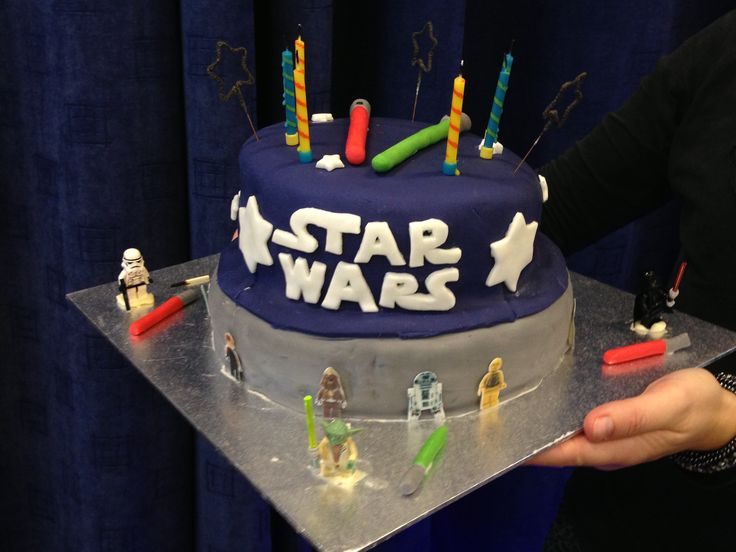 Star Wars birthday cake for Max (6)