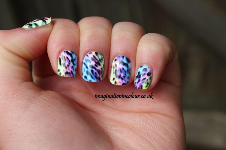 Fake Nails  | Leopard false nails press on falsies short fake nails impress nail ...