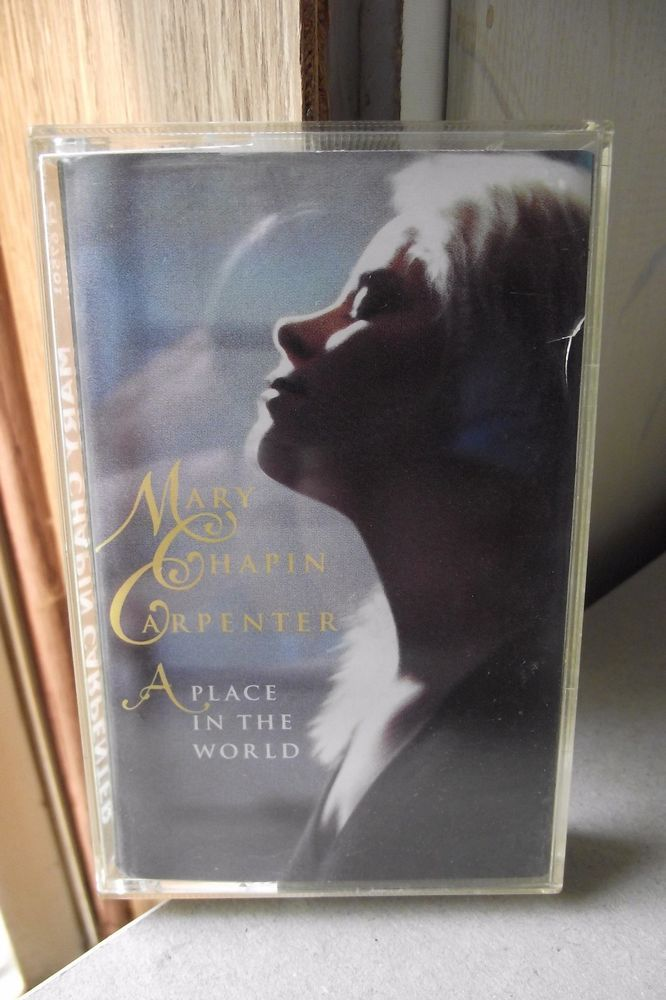 Mary Chapin Carpenter A Place In The World Cassette Country Music Keeping Faith