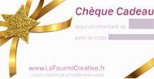 Loisirs creatifs et activites manuelles - La Fourmi creative