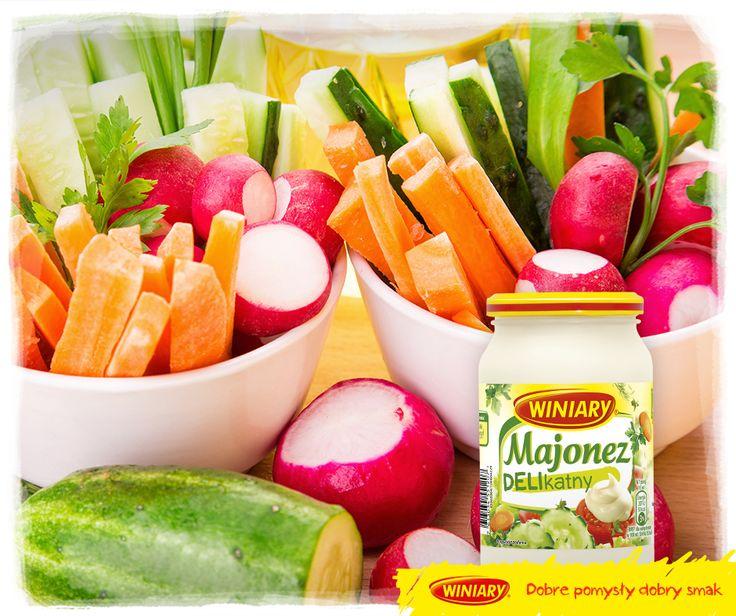 Delikatnie podkreśla smak świeżych warzyw!