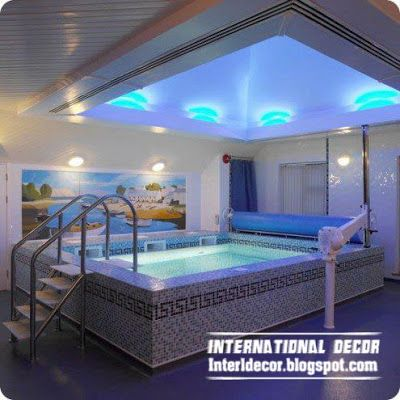 Home indoor pool and hot tub  11 best swimming pools images on Pinterest | Swimming pools ...